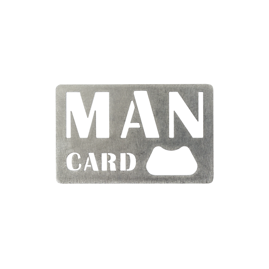Man Card Bottle Opener