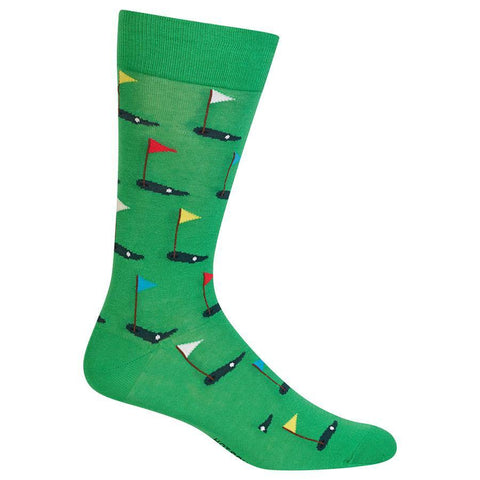 Men's Golf Crew Socks