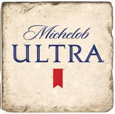 Michelob Ultra Stone Coaster