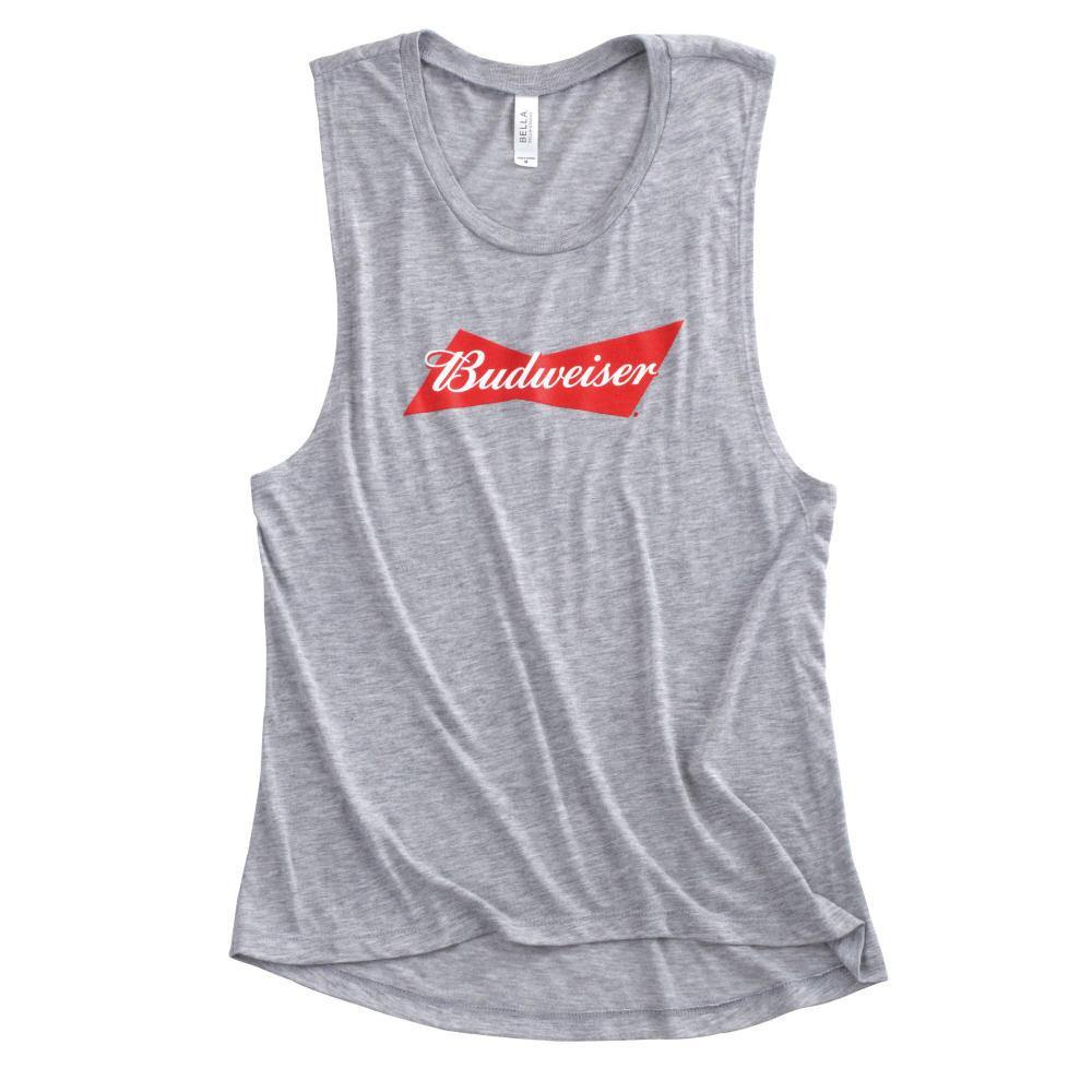 Ladies Budweiser Muscle Tank