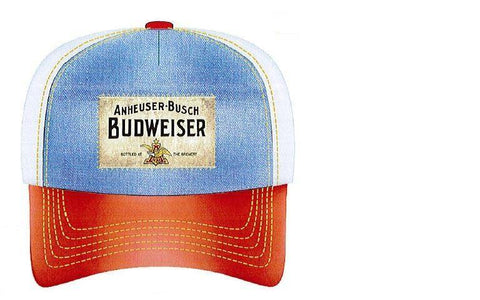 Budweiser Patch Denim Front Game Hat