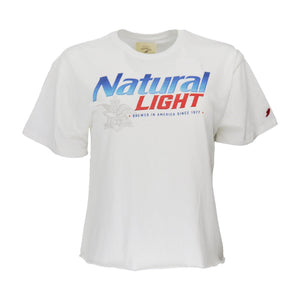 Natural Light Ladies Crop Tee