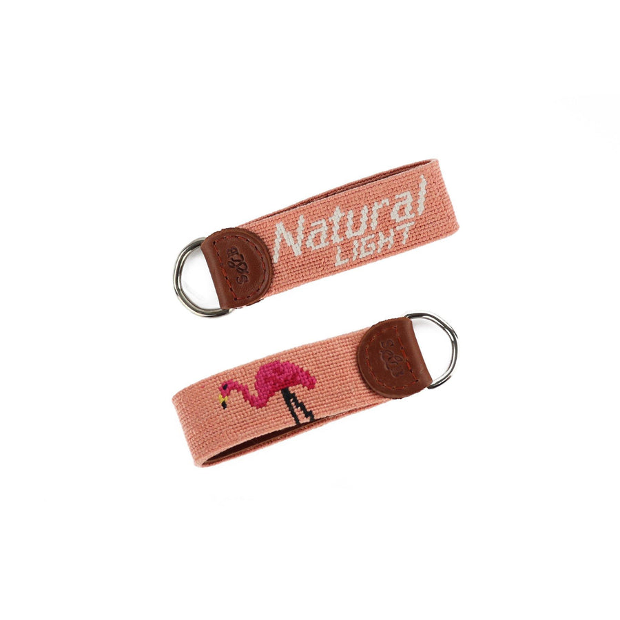 Smathers & Branson Natural Light Flamingo Key Fob