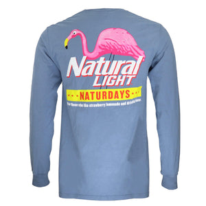 Naturdays Long Sleeve Front & Back Tee