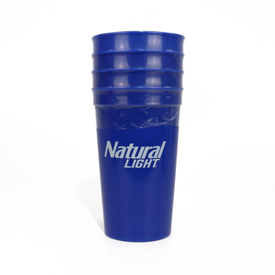 Natural Light 4 Pack Reusable Cup