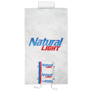 Natural Light Can Beach Towel