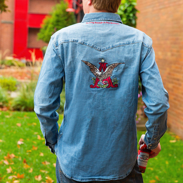 Oliver_Logan_Budweiser_Making_Friends_Denim_Shirt