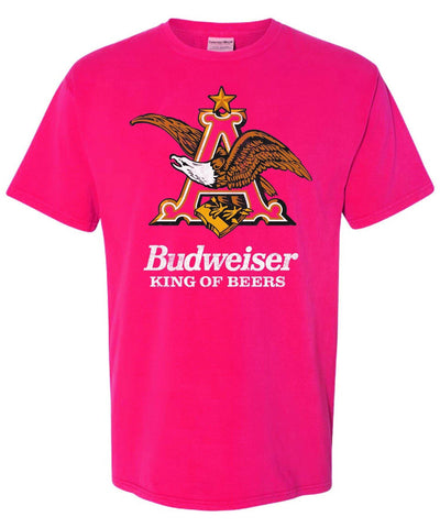 Budweiser King A & Eagle Tee