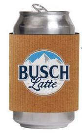 Busch Latte Coolie Sleeve
