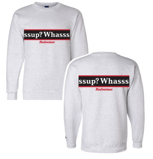 Budweiser Champion® Brand Whassup Scroll Fleece