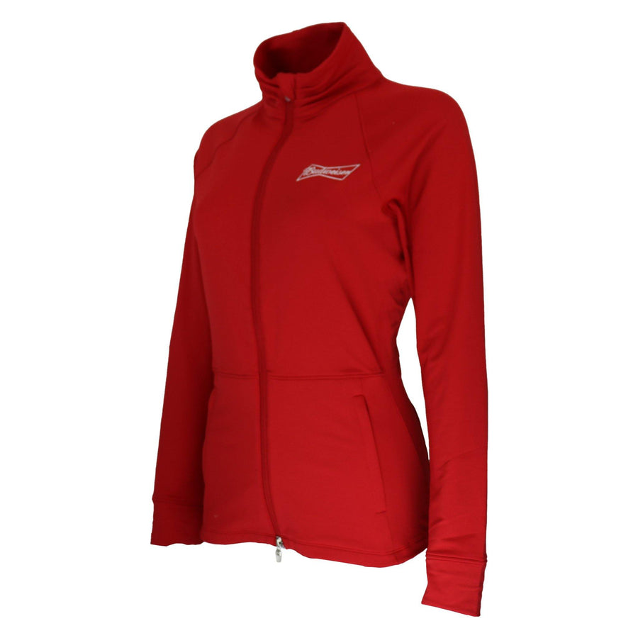 Peter Millar- Budweiser Ladies Collegiate Skirted Full Zip