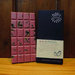 Ruby and Pistachio Bar