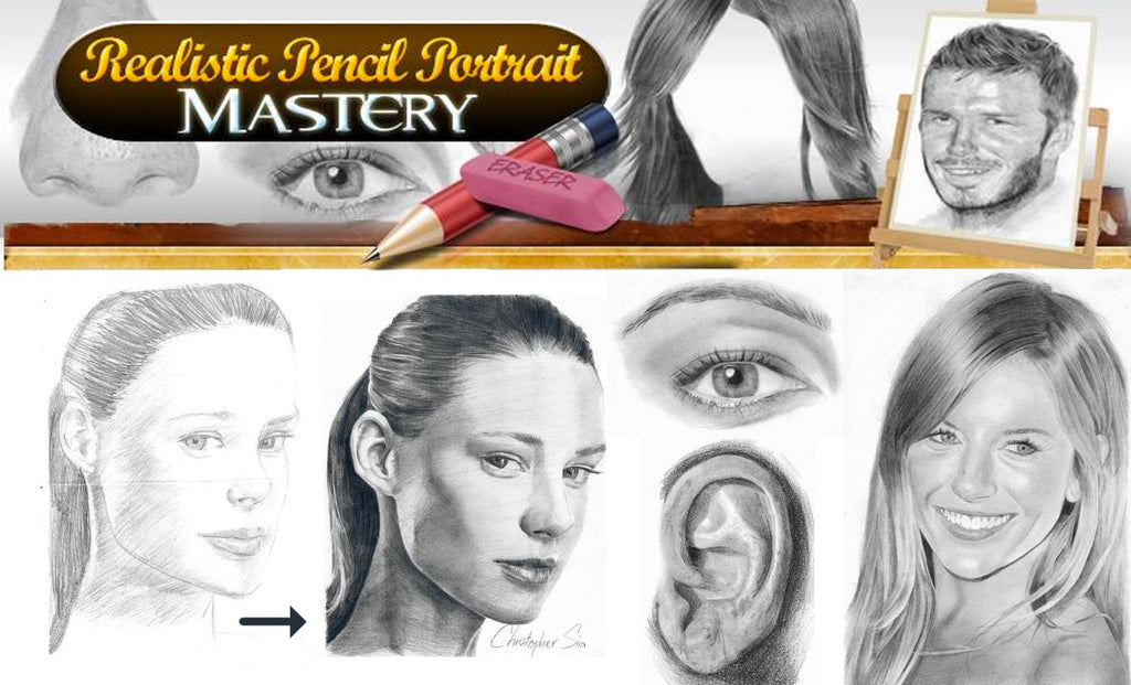 Realistic Pencil Portrait Mastery - An Honest Review