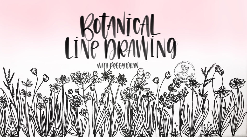 Botanical Line Drawing Online Class