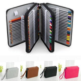 Leather (PU) Pencil Case 124 Pencil Slots