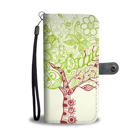 BTS Tree of Life Wallet Case