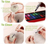 Refillable Watercolor Brush 3 Set
