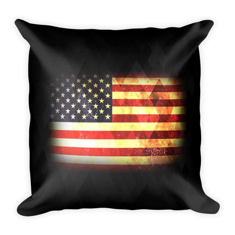 USA Square Pillow