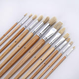 38 Professional Paint Brush Set with Roll Up Case
