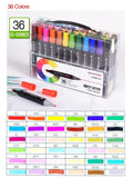 BTS Designer Marker 12/24/36/48/72 Color Sets