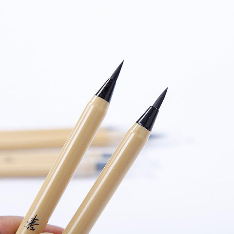 Chinese Calligraphy Brush Pen with Refill Ink