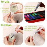 Refillable Watercolor Brush Set