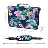 Floral 160 Slot Oxford Pencil Case