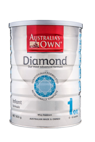 Australia's Own Diamond Infant Formula (0-6 months) 900g