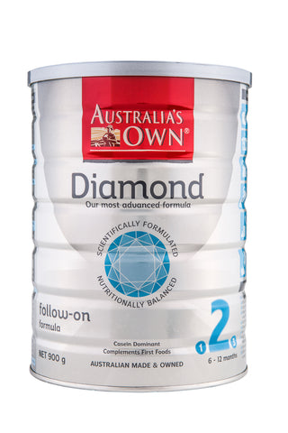 Australia's Own Diamond Follow-On Formula (6-12 months) 900g