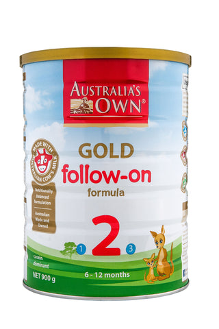 Australia's Own Gold Follow-On Formula (6-12 months) 900g
