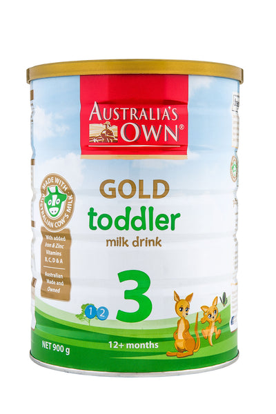 Australia's Own Gold Toddler Milk Drink (12+ months) 900g