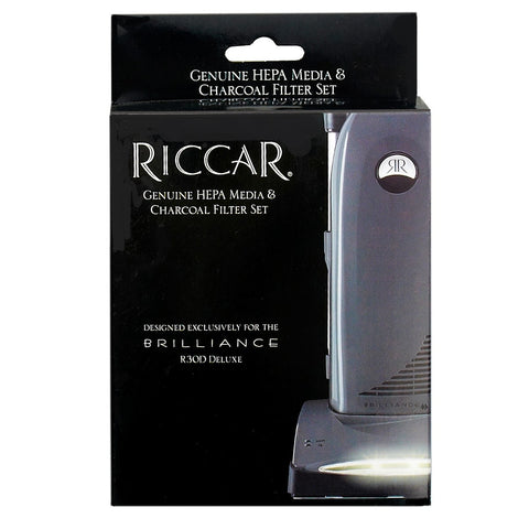 Riccar Brilliance Deluxe HEPA Media Filter Set for R30D Model