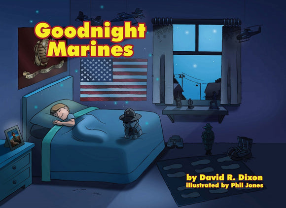best selling USMC Marine Corps family children's book Goodnight Marines