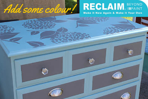Reclaim it with beautiful colours!