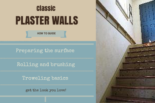 HOW TO get the perfect look with Caromal Colours' Perfect Plaster