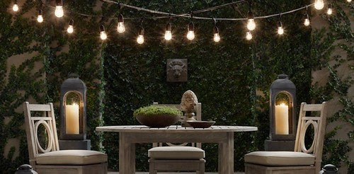 Add some magic to your home with Edison bulb patio lights