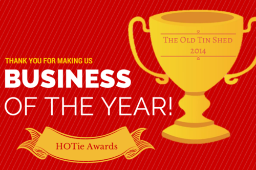 We're so honoured to be Business of the Year!