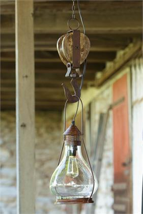 Lantern Light Pulley