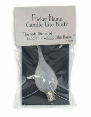 Silicone Bulb 3 Watt - Flicker | The Old Tin Shed