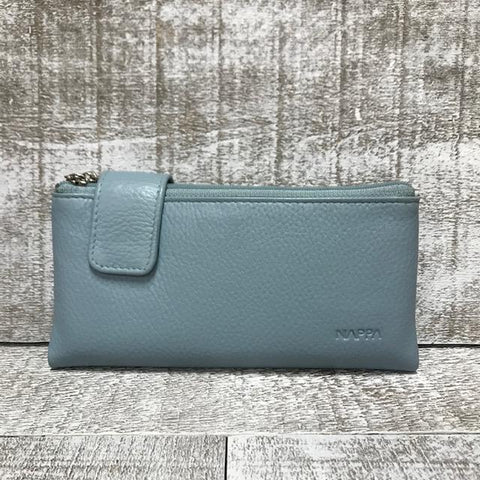 Leather Wallet - Lilac
