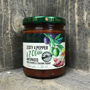 Antipasto - Zesty 4 Pepper & 2 Olive | The Old Tin Shed