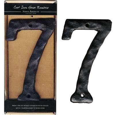 Iron House Number - 7