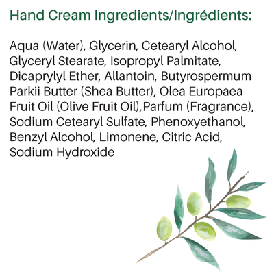 Alkmene Organic Olive Oil Hand Cream Vegan hydrating Hand Cream