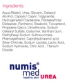 numis med 5% urea body lotion. Moisturizer for extremely dry & irritated skin