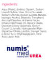 Numis Med 5% Urea face & Body Wash.  Hydrating Cleanser for extremely dry, irritated skin