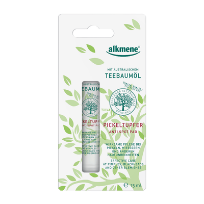 Alkmene Tea Tree Oil Acne Spot Treatment Cystic acne breakouts travel size natural blemish treatment imported from germany target pimple