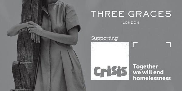Three Graces London Supports Homeless Charity Crisis
