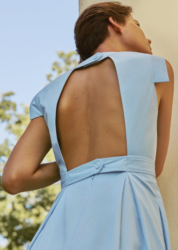 Jolene Dress in Sky Blue
