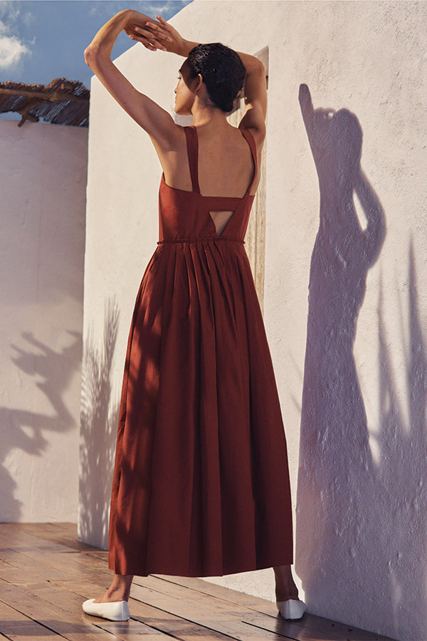 Esther Dress in Copper