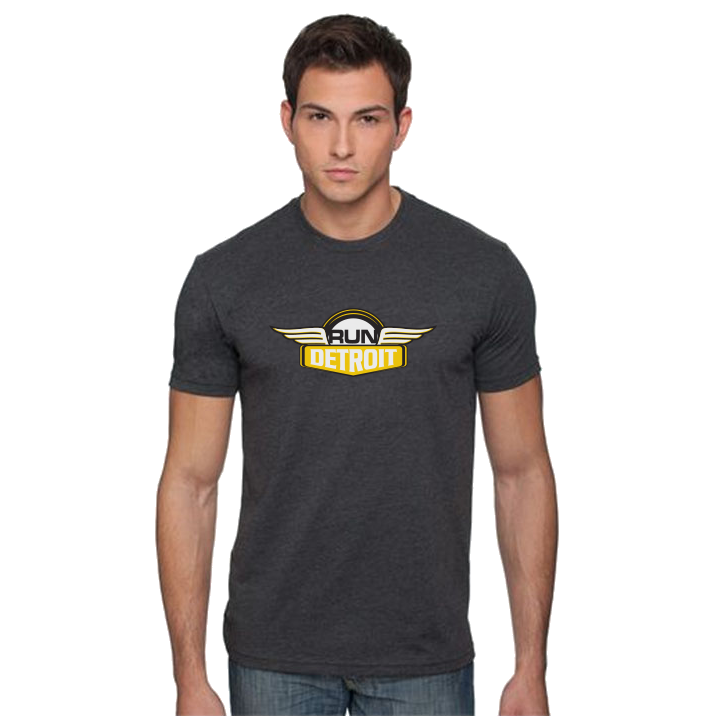 Men's RUNdetroit Logo Short Sleeve Tee